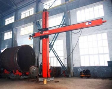 埋弧焊机升降架生产现场